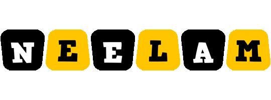 Neelam boots logo