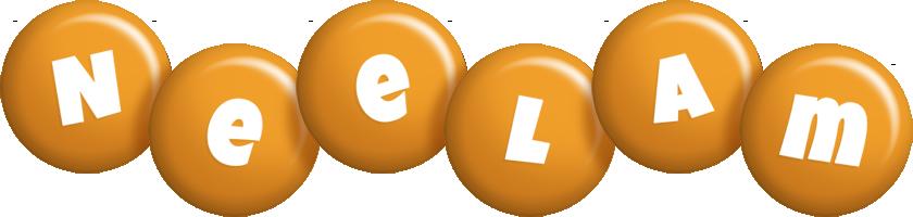 Neelam candy-orange logo