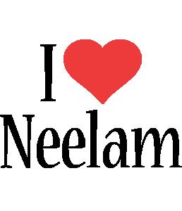 Neelam i-love logo