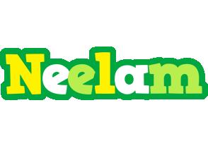 Neelam soccer logo