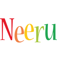 Neeru birthday logo
