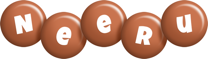 Neeru candy-brown logo