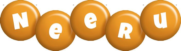 Neeru candy-orange logo