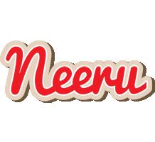 Neeru chocolate logo