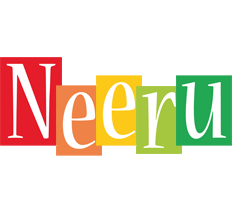 Neeru colors logo