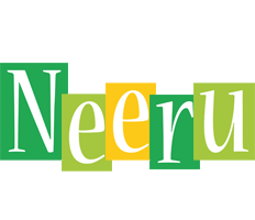 Neeru lemonade logo