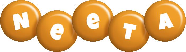 Neeta candy-orange logo