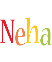 Neha birthday logo