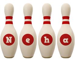 Neha bowling-pin logo