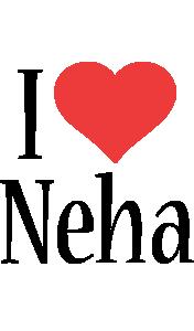 Neha i-love logo