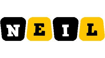 Neil boots logo