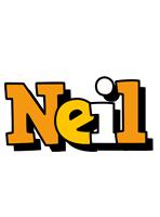 Neil cartoon logo
