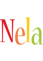 Nela birthday logo