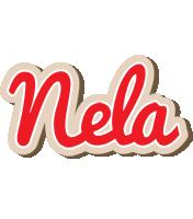Nela chocolate logo