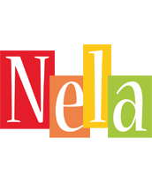 Nela colors logo