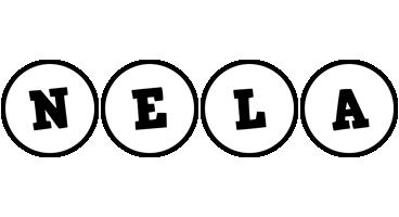 Nela handy logo