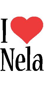 Nela i-love logo