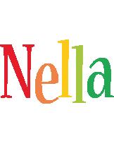 Nella birthday logo