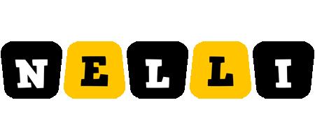 Nelli boots logo