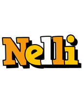 Nelli cartoon logo