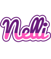 Nelli cheerful logo