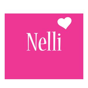 Nelli love-heart logo