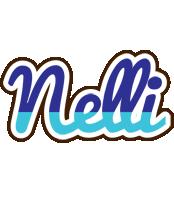 Nelli raining logo