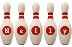 Nelly bowling-pin logo