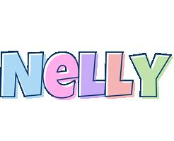Nelly pastel logo