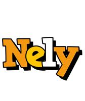Nely cartoon logo