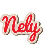 Nely chocolate logo