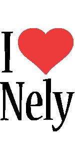 Nely i-love logo
