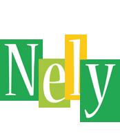 Nely lemonade logo
