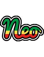 Neo african logo