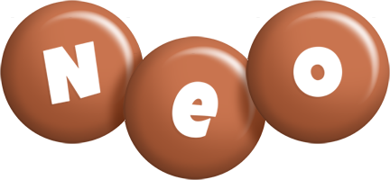 Neo candy-brown logo