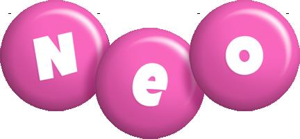 Neo candy-pink logo