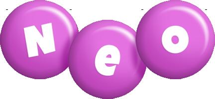 Neo candy-purple logo