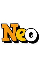 Neo cartoon logo