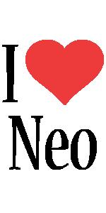 Neo i-love logo