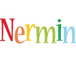 Nermin birthday logo