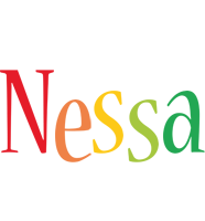 Nessa birthday logo