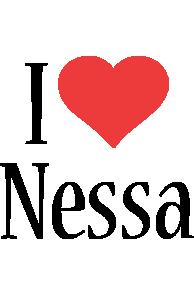Nessa i-love logo