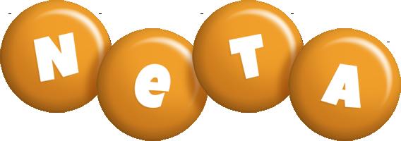 Neta candy-orange logo