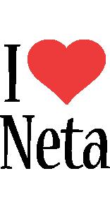 Neta i-love logo