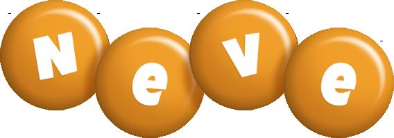 Neve candy-orange logo