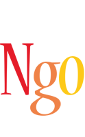 Ngo birthday logo