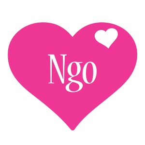 Ngo love-heart logo