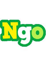 Ngo soccer logo