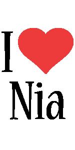 Nia i-love logo