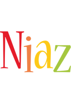 Niaz birthday logo
